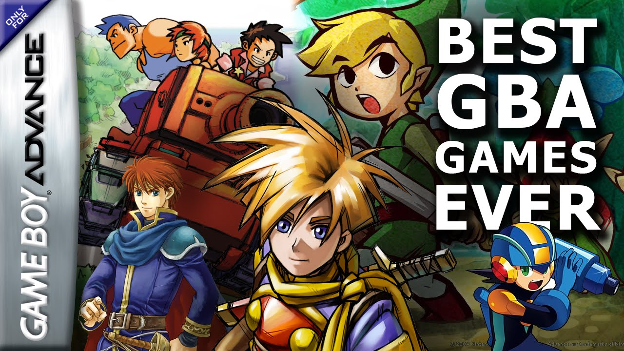 Best GBA Games   Gameboy Advance Collection video    YouTube