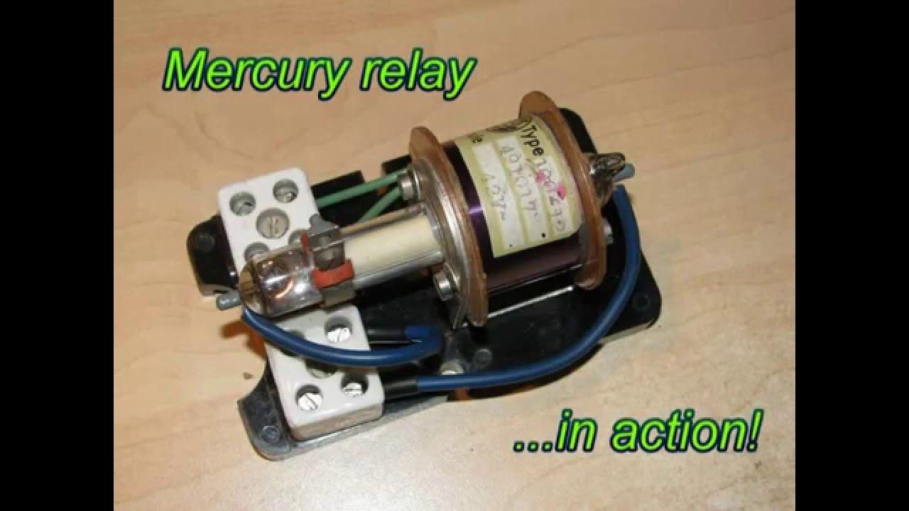 Mercury Relay Switch    Rtu U0165ov U00e9 Rel U00e9 Sp U00edna U010d