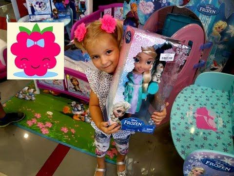 VLOG 3 Магазин игрушек Frozen,Barbie,Minion,Turtles,Hello Kitty,Monster High,Play Doh,Sofia