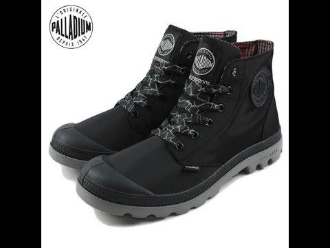Mở hộp và đánh giá nhanh giày Palladium waterproof