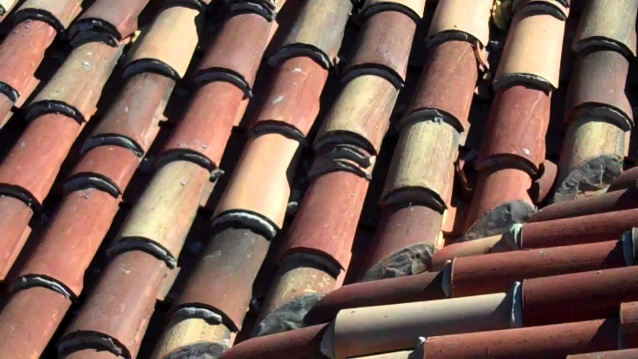 Clay Roof Tile Redland Clay Tile Installation - Istueta Roofing - YouTube