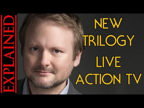 MAJOR STAR WARS NEWS - A New Trilogy, A Live Action Show, and More!
