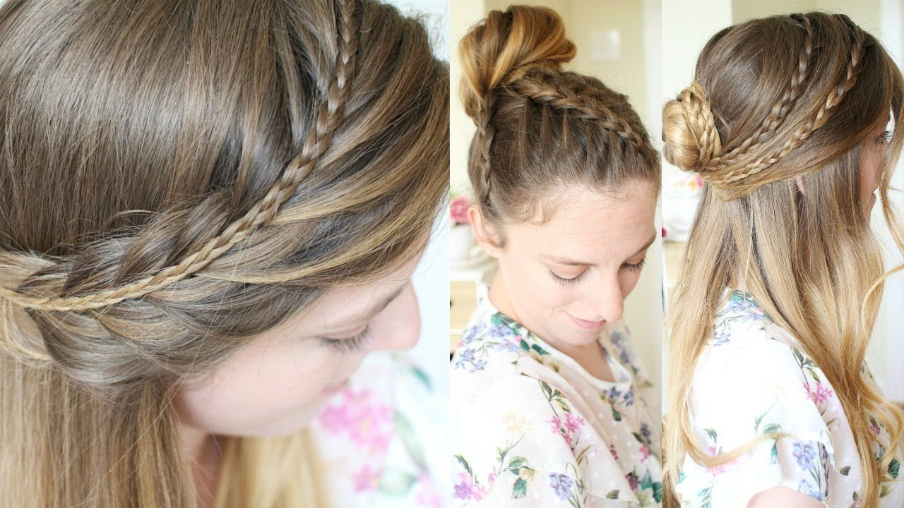 Hair Styles For Spring: 4 Back To School Hairstyles 2017
