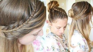 4 Back to School Hairstyles 2017 | 4 Braided Hairstyle Ideas | Braidsandstyles12