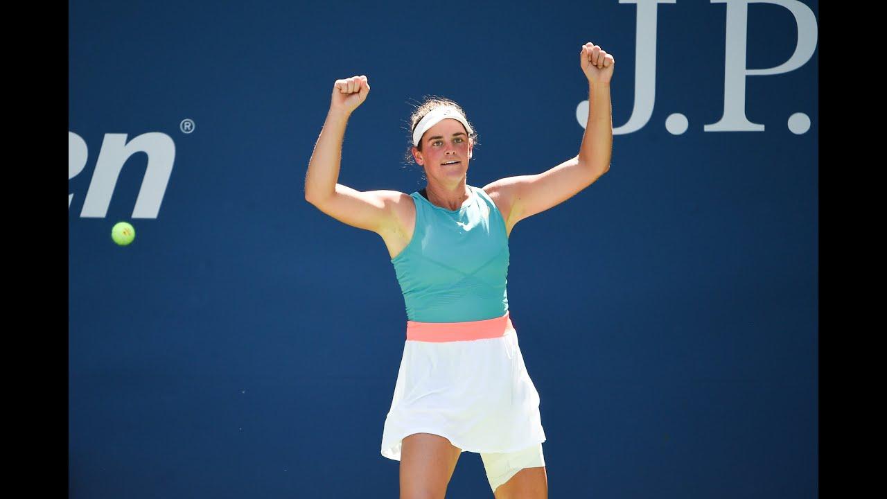 Jennifer Brady | Top 10 points of US Open 2020