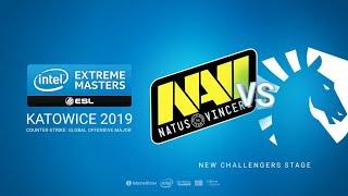 Na`Vi vs Team Liquid - IEM Season XIII - Katowice Major 2019 - map1 - de_mirage[Gromjkeee & MintGod]