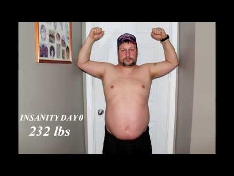 My Insanity journey results; How I lost 44 pounds in only 60 days