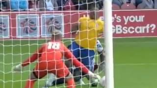 مباراة البرازيل 0-2 بريطانيا|مباراة ودية
