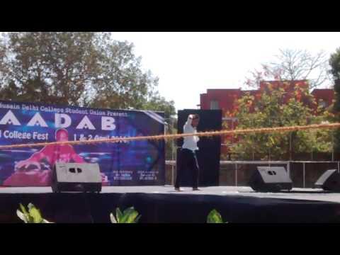 Zakir Hussain Delhi college fest 2014