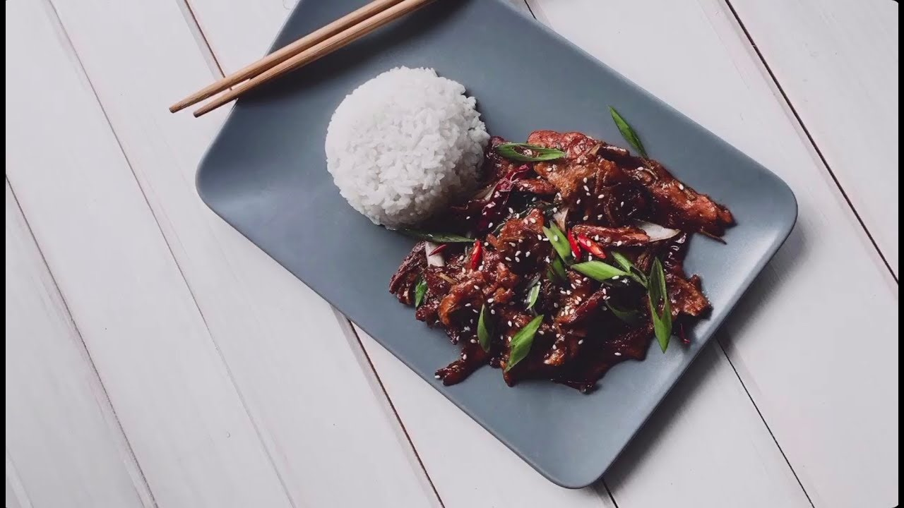 Говядина по-монгольски//Vegan Mongolian «Beef»