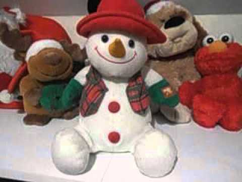 Singing Snowman Christmas Toys 2015  Animated Toy