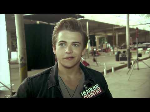 Behind The Scenes Hunter Hayes + Love and Theft 627