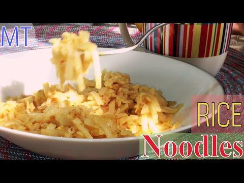 Easy Rice Noodles Recipe