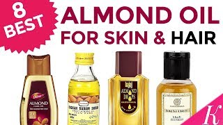 8 Best Almond Oil for Shiny Hair & Glowing Skin In India with Price