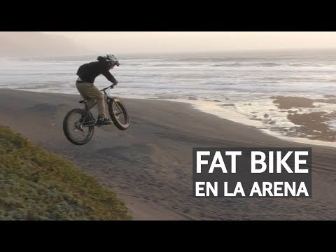 Fat Bike aún más gorda Bike Park OMZ y Freeride en la arena!
