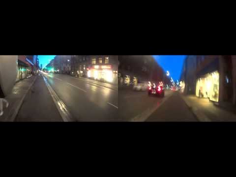 Sony HDR-AS15 Action Camera Twincam Test in Copenhagen