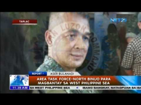 Area Task Force North to guard Philippine interests in West Philippine Sea