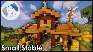 Minecraft: Small Survival Stable Tutorial!