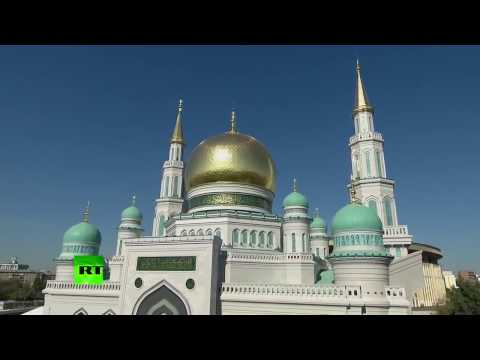 Pidato Presiden Putin di Acara Peresmian Masjid Agung Moskow