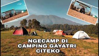 CAMPING GAYATRI CITEKO PUNCAK