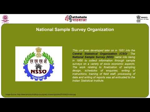 Sample surveys NSSO rounds