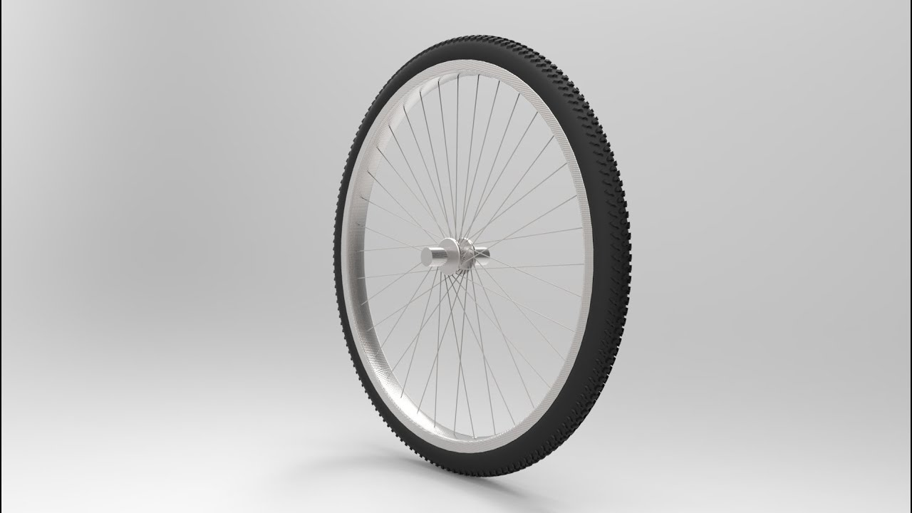 How to make bicycle wheel in solidworks youtube for Making bicycle wheels