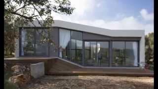 Дизайн одноэтажного дома. Проект небольшого одноэтажного современного дома.