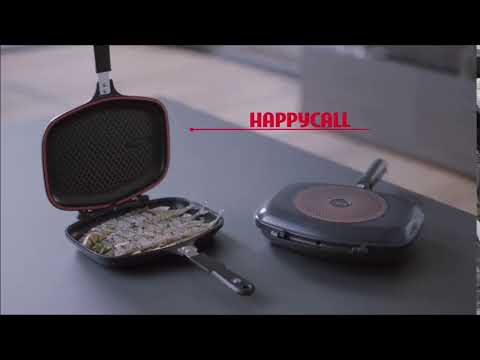 Happycall Synchro Double Pan - Grilled Fish