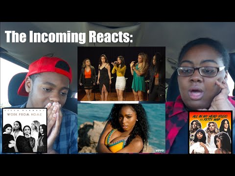 The Incoming Reacts to Fifth Harmony on iHeart Radio in Australia.