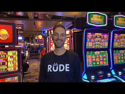 🔴 LIVE Vegas Slot Machines 🎰 $1000 At Aria With Brian Christopher