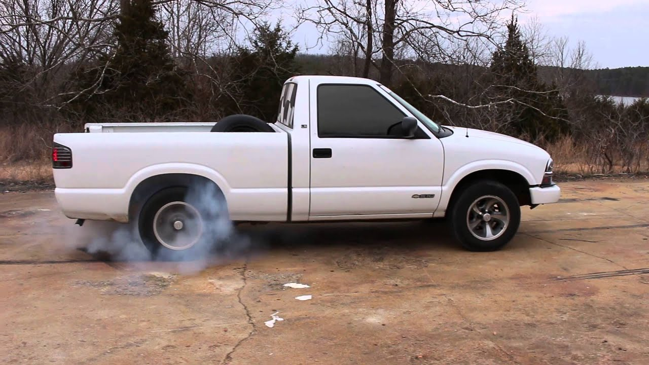 2001 chevy s10 2 2l manual burnout youtube. Black Bedroom Furniture Sets. Home Design Ideas