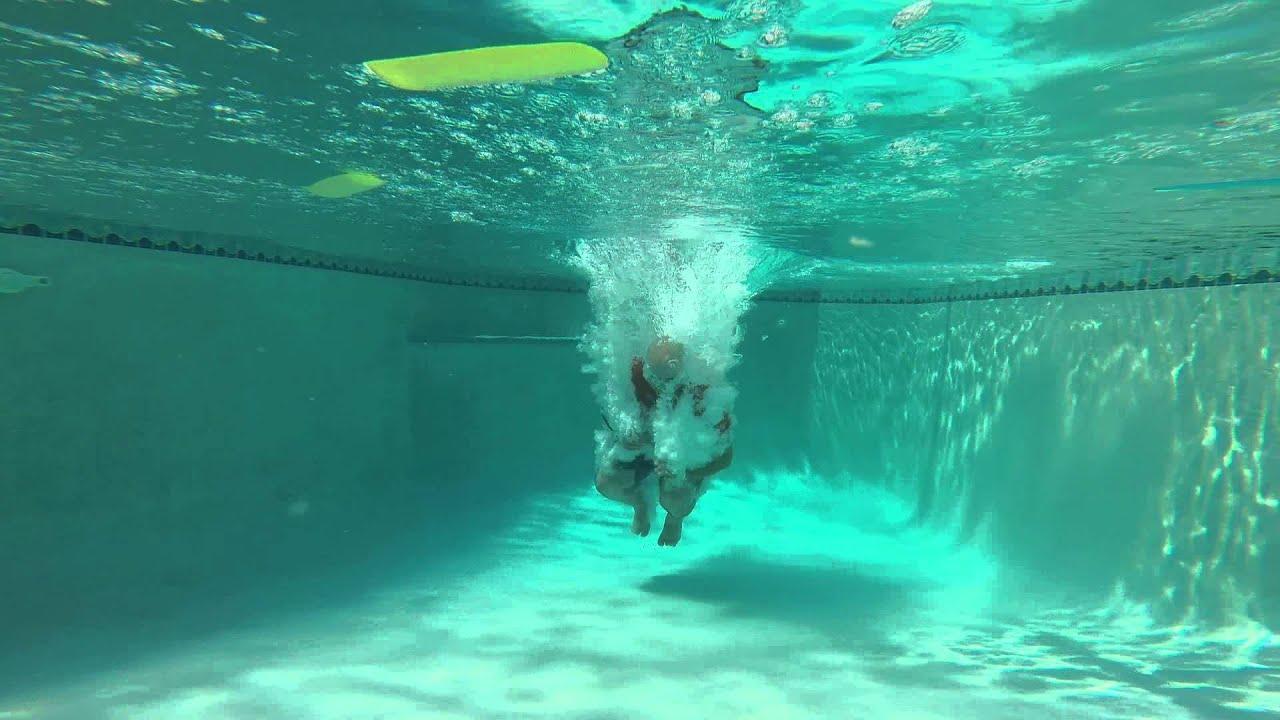 Pool Splash Cannonball cannonball!!! - youtube