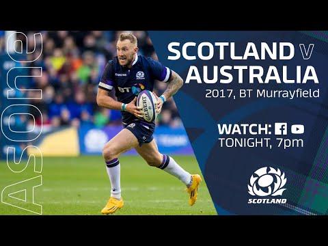 FULL MATCH REPLAY |  Scotland V Australia | 2017