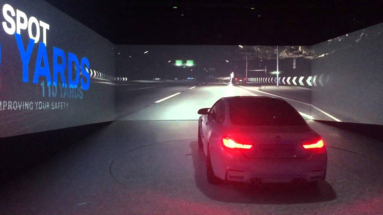 BMW Laser Headlights Introduction CES 2015 Las Vegas  YouTube