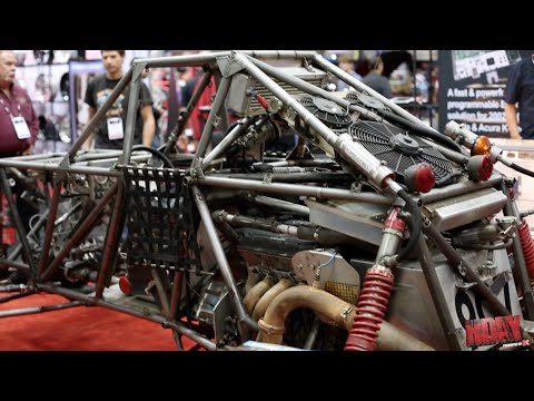 Hondata's Super Buggy with a Honda B series engine