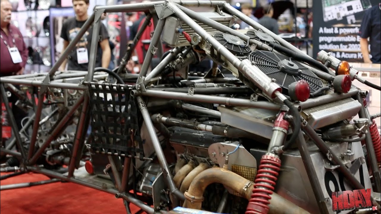 Hondata's Super Buggy with a Honda B series engine - YouTube