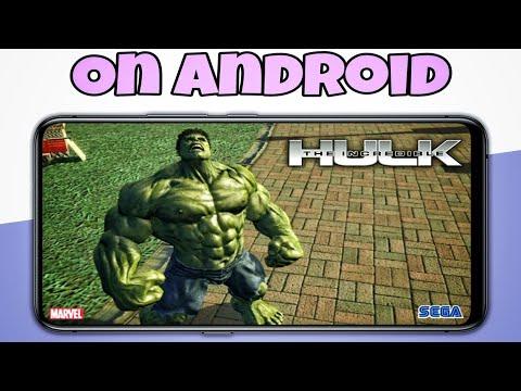 The Incredible Hulk Game For Android | #hulk #marvelgames
