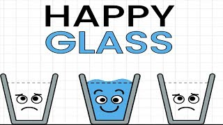 Happy Glass - Gameplay Walkthrough - Creator of Love Ball Funny Puzzle Solving (iOS/Android)