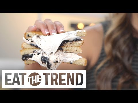 Oreo Grilled Cheese Eat The Trend