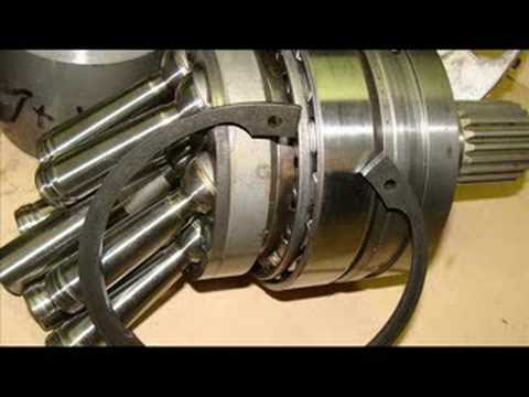 Bent Axis Hydraulic Motor Animation And Exploded View Doovi