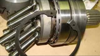 reparation moteur hydraulique rexroth a2fe107