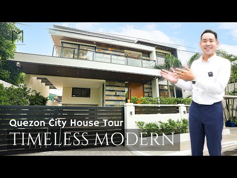 House Tour QC40 • I've Waited a Year to Tour this House • TIMELESS Modern Quezon City House for Sale