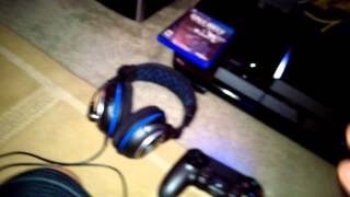 turtle beach px4 headset setup ps4