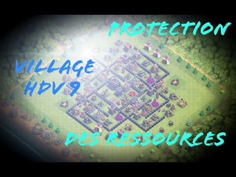 Village hdv 9 protection des ressources