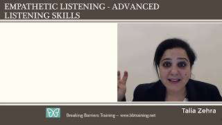 English Essentials - Empathetic Listening - Video 8