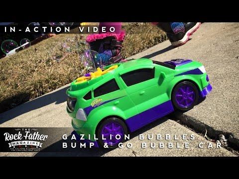 In-Action: Gazillion Bubbles Bump & Go Bubble Car (Funrise Toys)
