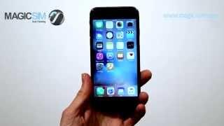GoodTalk Dual SIM. 2 cartes SIM en même temps! DEMO iPhone 6S