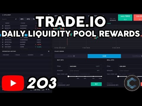 Earn Daily Rewards with TRADE.IO Liquidity Pool - What are T