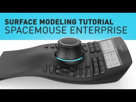 SOLIDWORKS SURFACE MODELING TUTORIAL - SPACEMOUSE ENTERPRISE