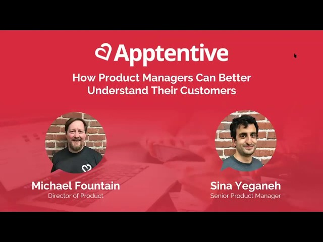 Post for video 'How Product Managers Can Better Understand Their Customers Webinar